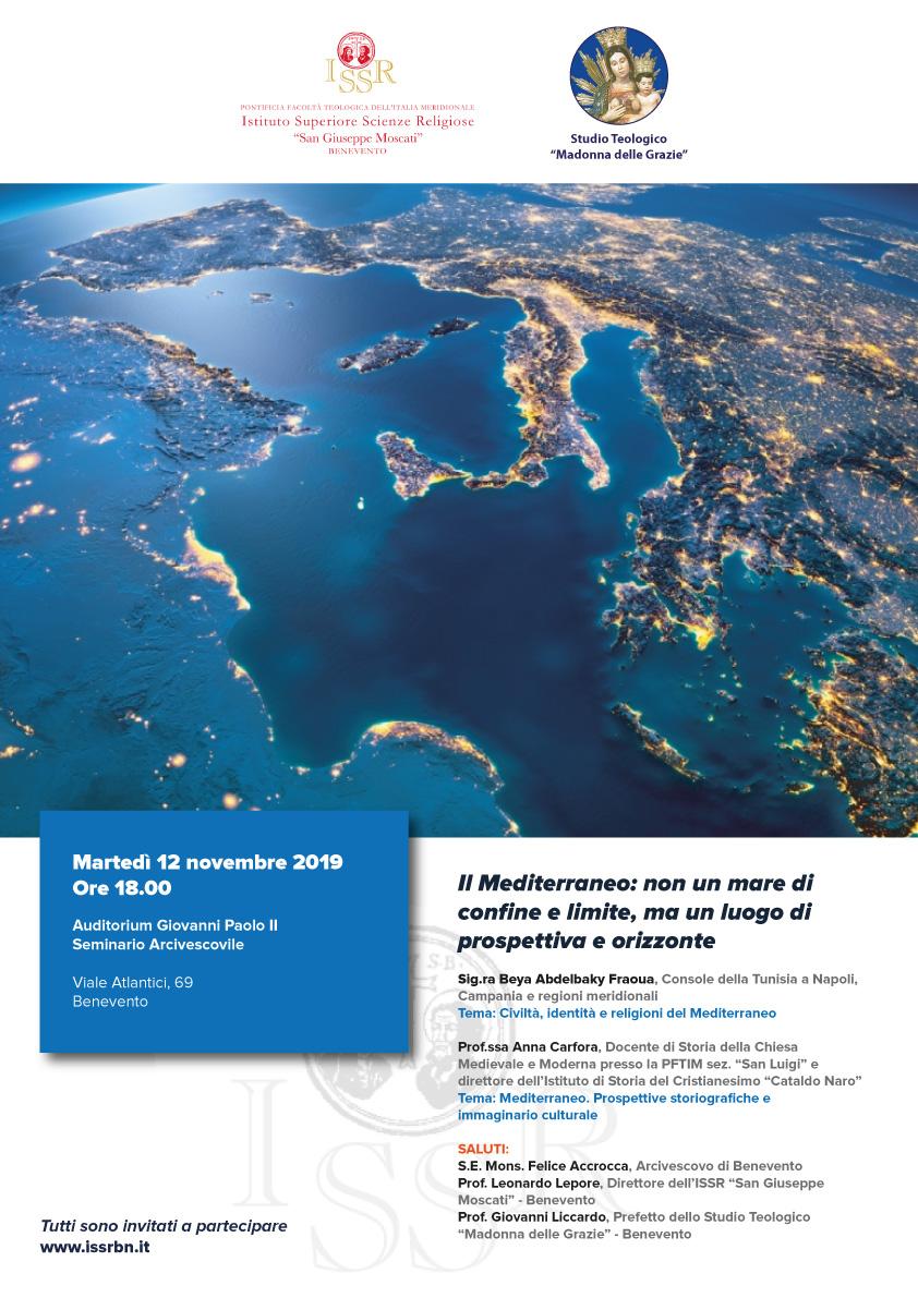 Il Mediterraneo: non un mare di confine e limite, ma un luogo di prospettiva e orizzonte